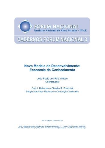 Cadernos Fórum Nacional 3