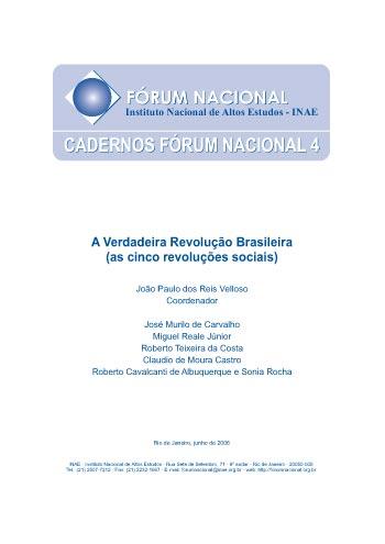 Cadernos Fórum Nacional 4