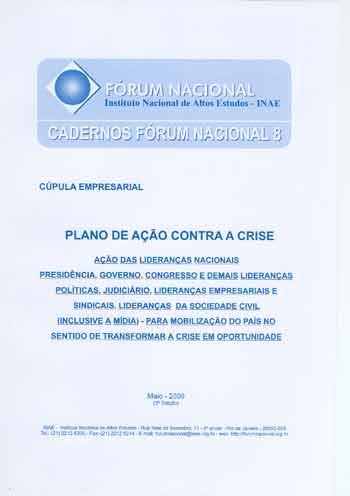 Cadernos Fórum Nacional 8