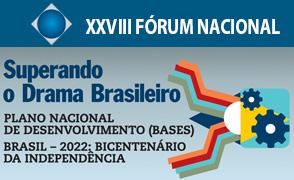 Inscrições no XXVIII Fórum Nacional