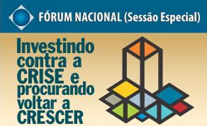 Aguarde o início das inscrições para o Fórum Nacional (Sessão Especial) – setembro de 2016.