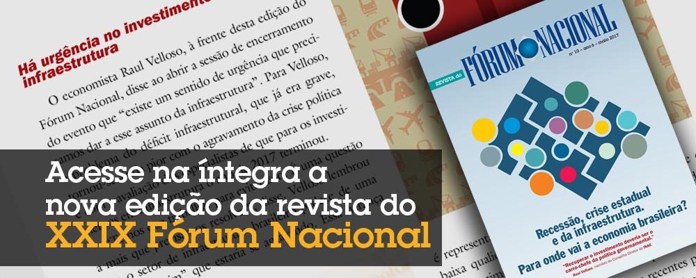 Revista do XXIX Fórum Nacional  –  maio 2017