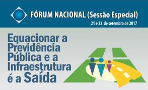 Aguarde o início das inscrições para o XXIX Fórum Nacional - maio 2017.