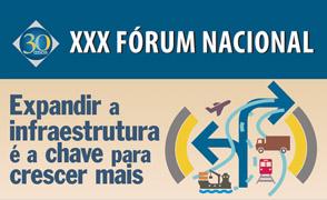 Aguarde o início das inscrições para o XXX Fórum Nacional - maio 2018.