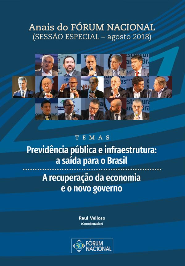 Anais do FÓRUM NACIONAL (SESSÃO ESPECIAL – agosto 2018)