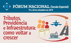 Fórum Nacional (Sessão Especial) - setembro de 2019.